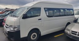 2018 Toyota Hiace HIGH ROOF